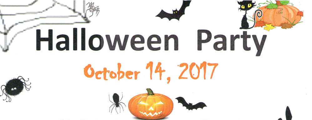 Sat Oct 14 6:30 PM-Halloween Party; Activity Center