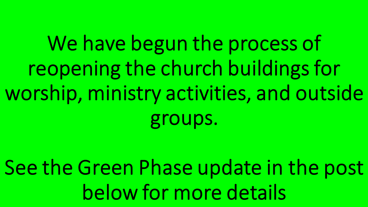 Green Phase Update